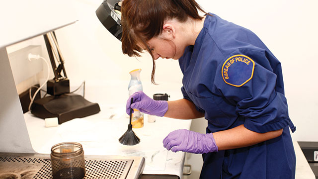 forensics scientist