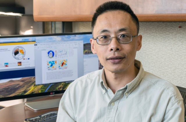 Yuhang Wang, a professor in the School of Earth and Atmospheric Sciences at the Georgia Institute of Technology