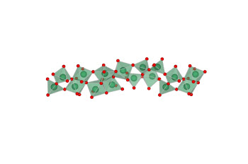 Linear structural model of chemically condensed niobium oxide