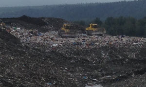 Cedar Hills Regional Landfill, King County's landfill in Maple Valley