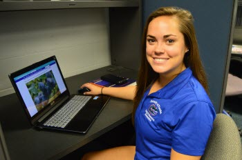 Tori Bradley, a graduate student in the University of Florida College of Agricultural and Life Sciences