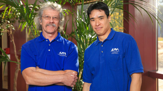 "Dr. Allen ""Al"" Wilhite and Dr. Eric Fong"