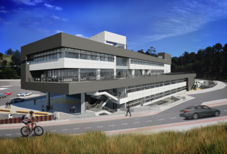 Rendering of the Integrative Genomics Building