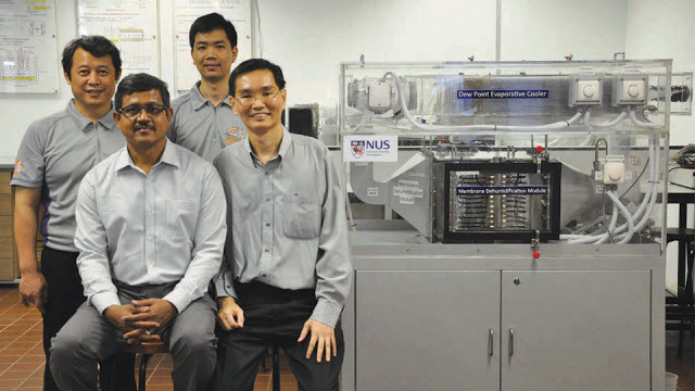 NUS Engineering researchers