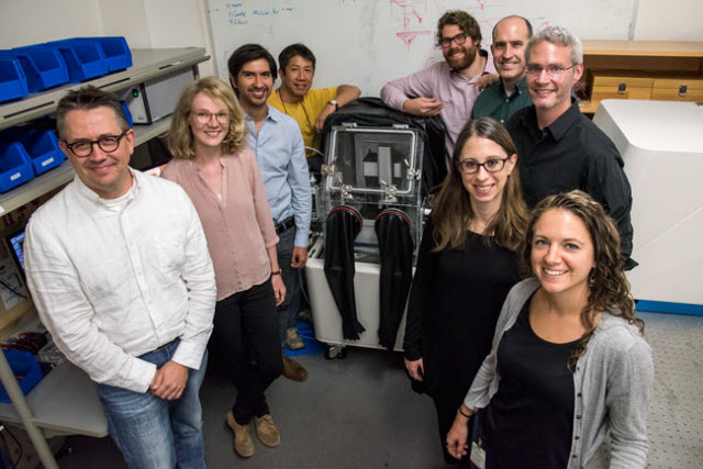 team of scientists from the Molecular Foundry and the Joint Center for Artificial Photosynthesis