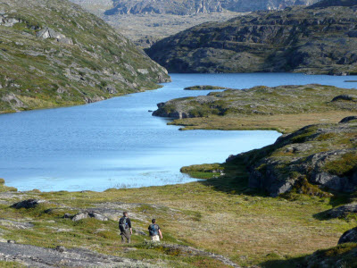 lake in Western Greenland
