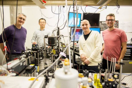 team refrigerates liquids with a laser for the first time