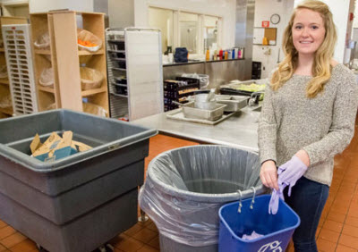 CEE at Illinois student Madeline Kull helps launch recycling program for disposable gloves