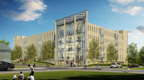 IU School of Informatics and Computing breaks ground on new building, announces $8 million gift