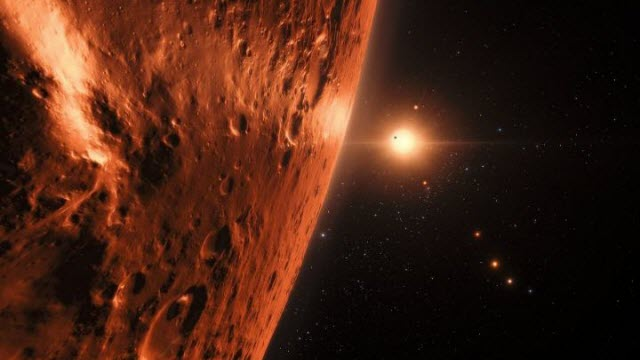 one of the planets in the TRAPPIST-1 system