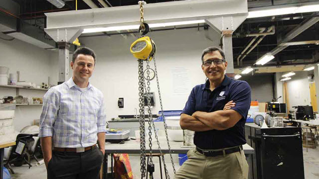 SLU Engineering Students to Build Full-Scale Projects in New Lab
