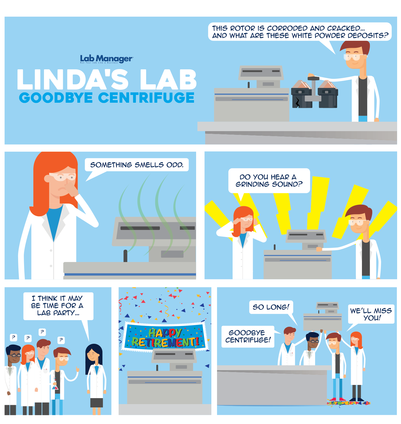 Linda's Lab - Goodbye Centrifuge