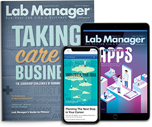 Lab Manager Magazine Covers