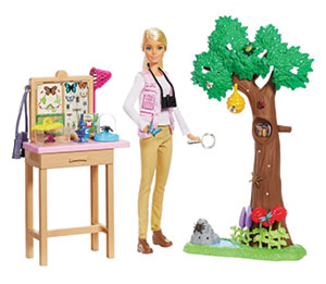 National Geographic Scientist Barbie Collection