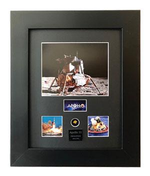 Apollo 11 50th Anniversary Framed Print