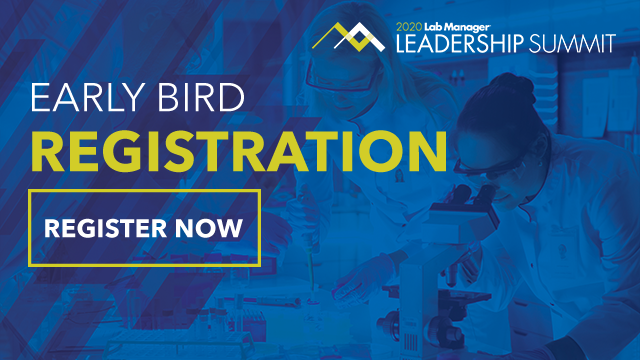 Early Bird Registration: 2020 Lab Manager Leadership Summit