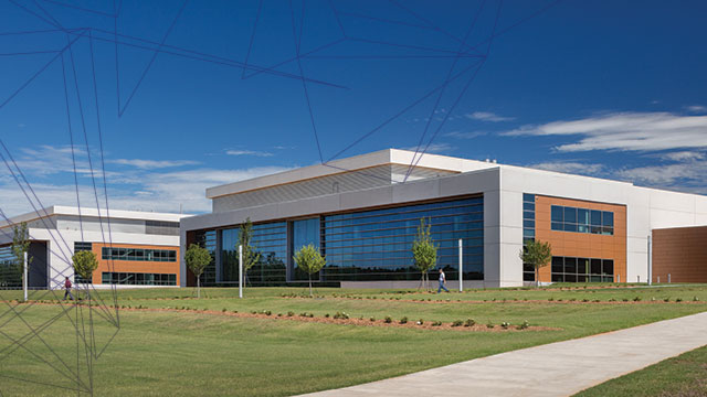 Shire's new manufacturing facility near Atlanta.