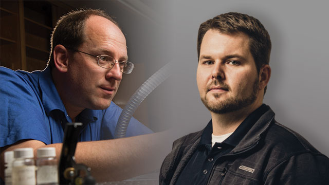 Daniel E. Austin and Christopher C. Mulligan discuss portable mass spectrometers