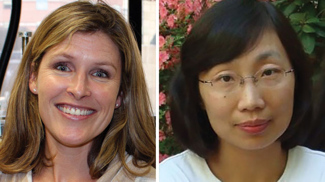 Jennifer Smith, PhD, and Yanhui (Claire) Hu, PhD