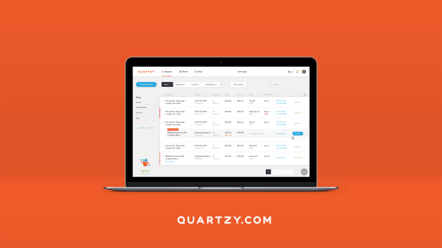 Quartzy's free online management tool