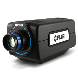 The FLIR A6260 SWIR imaging camera