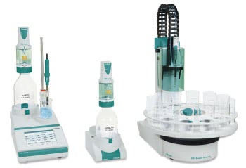 Ti-Touch Titrators and 810 Autosampler from Metrohm