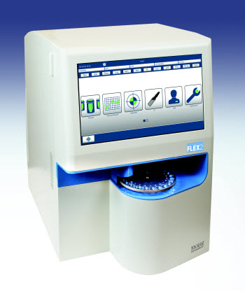 Nova's BioProfile® FLEX2 automated cell culture analyzer.