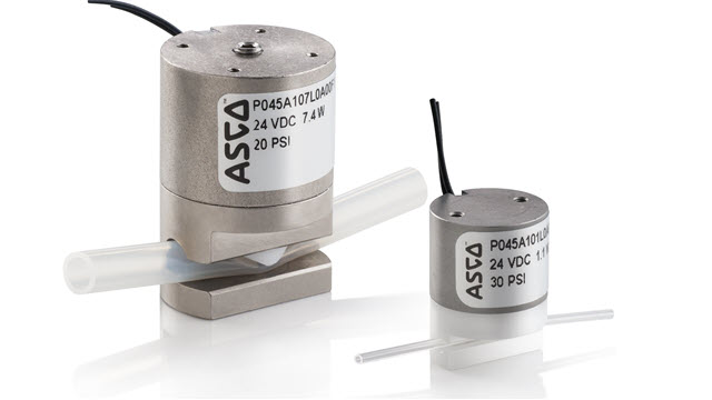 Emerson Expands ASCO™ Series 045 Solenoid Pinch Valves to