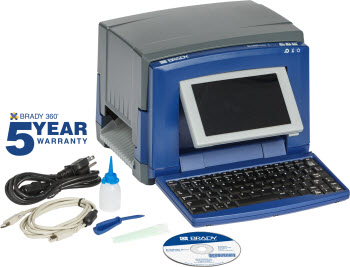 the BradyPrinter S3100 sign and label printer